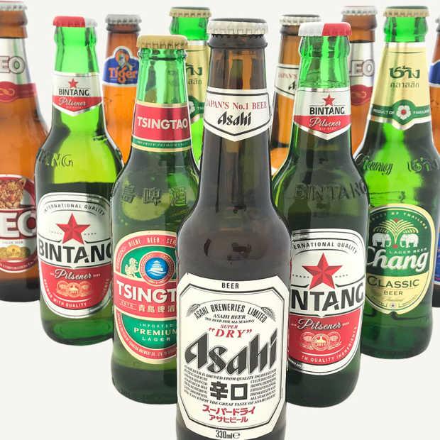 Met Aziatische bieren deze zomer toch op rondreis door Azië