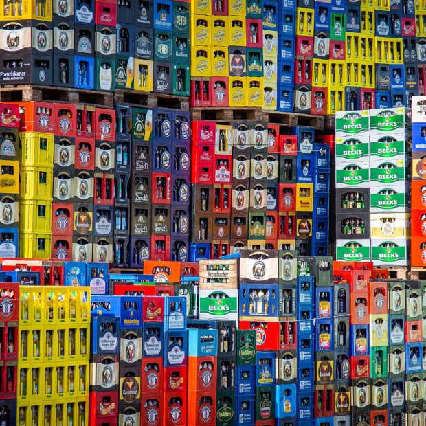Limburgse bierbrouwers kampen met een tekort aan bierkratten