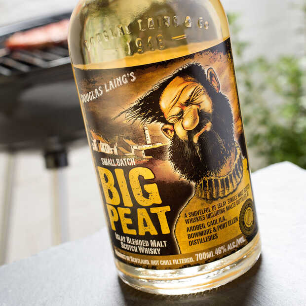 Big Peat is een fraaie blended whisky gemaakt van Islay Scotch