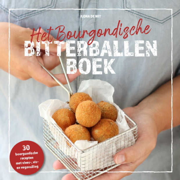 Eerste bitterballenkookboek van Nederland ligt in de winkel