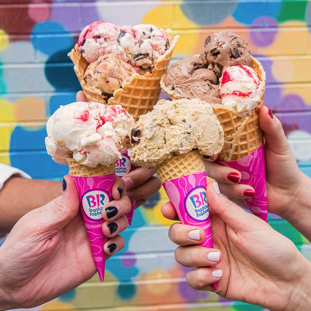 Baskin-Robbins opent op 26 april in Utrecht​ eerste store in Nederland