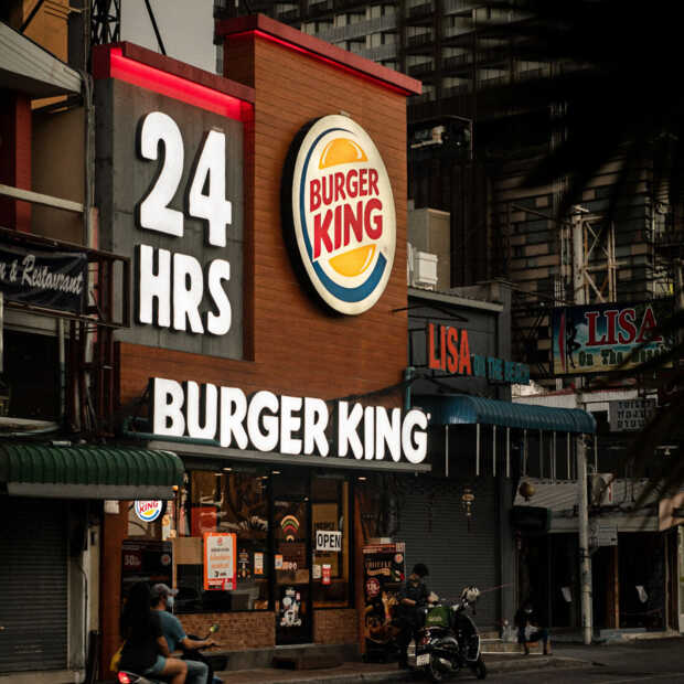 Britse Burger King laat lokale restaurants adverteren op Instagram