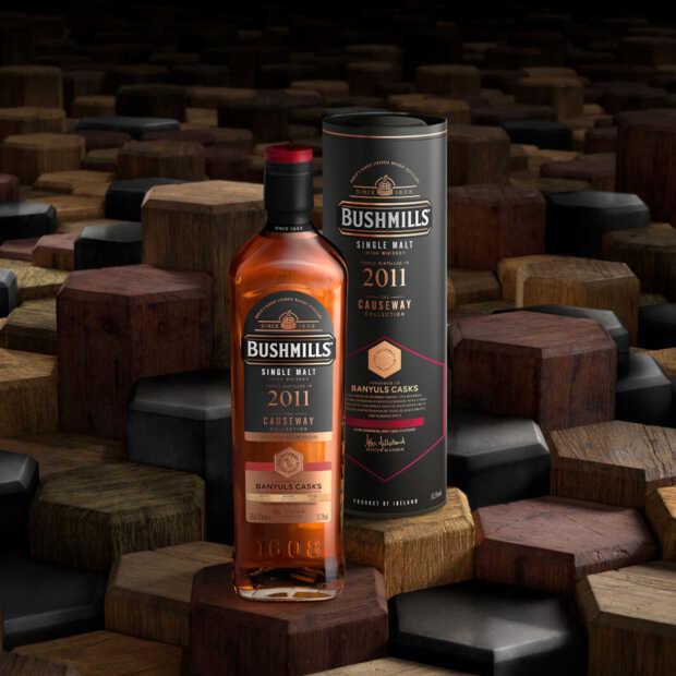 Causeway-collectie van whiskeymerk Bushmills komt exclusief naar Nederland