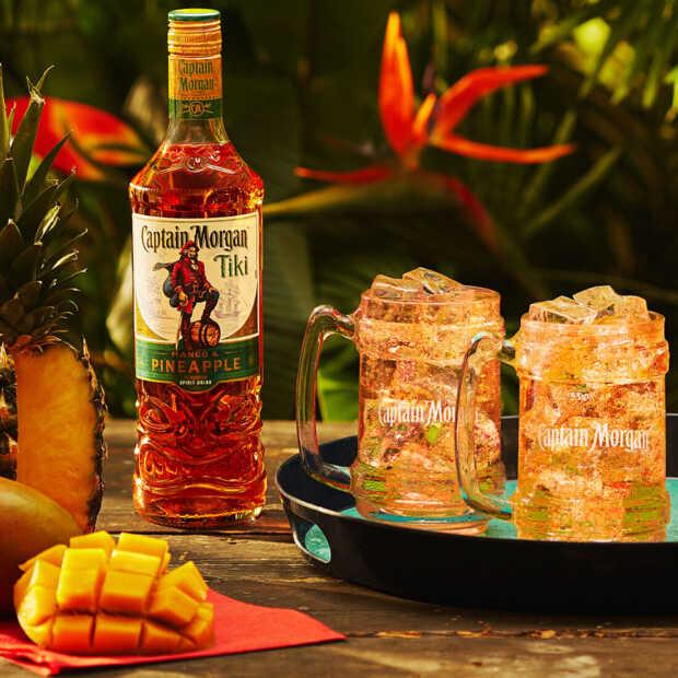 Captain Morgan brengt rum met smaken van mango en ananas uit