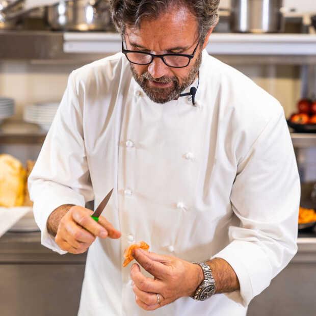 Een heerlijke risotto en rijstpudding door de Italiaanse sterrenchef Carlo Cracco