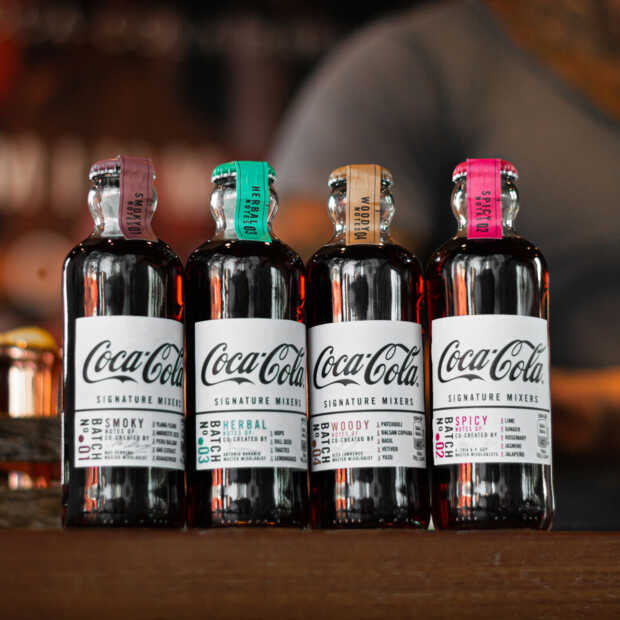 Coca-Cola Signature Mixers zijn ideale danspartner voor dark spirits