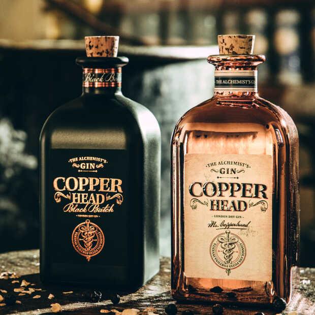 Copperhead gin heeft drie smaakvolle blikvangers geproduceerd
