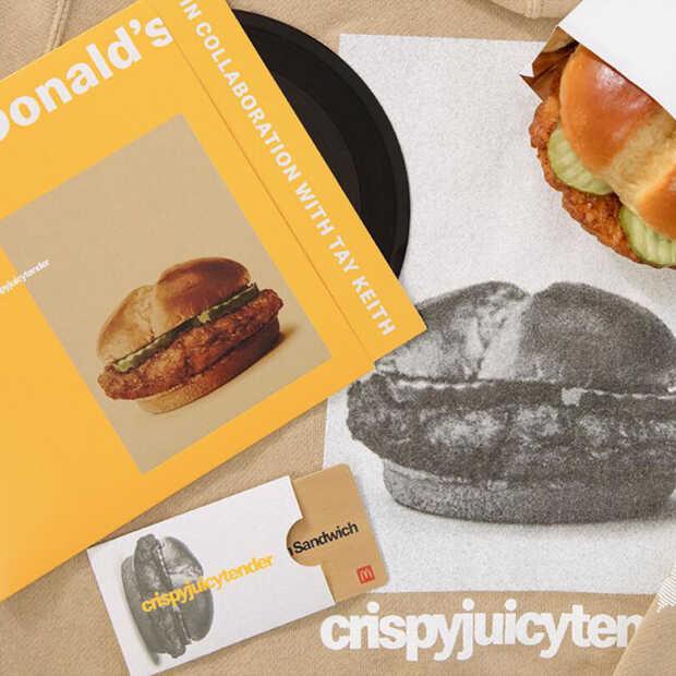 McDonald's hypet nieuwe kipburgers hetzelfde als gelimiteerde sneakers