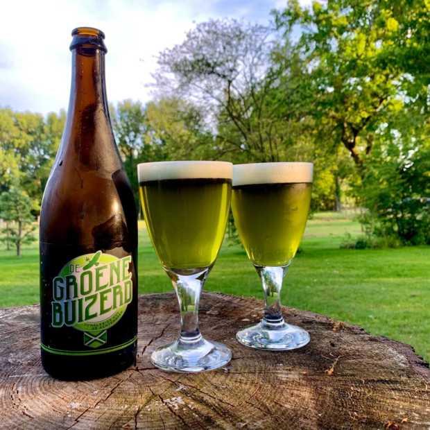Nieuw cannabisbier 'De Groene Buizerd' volgende week gereleased
