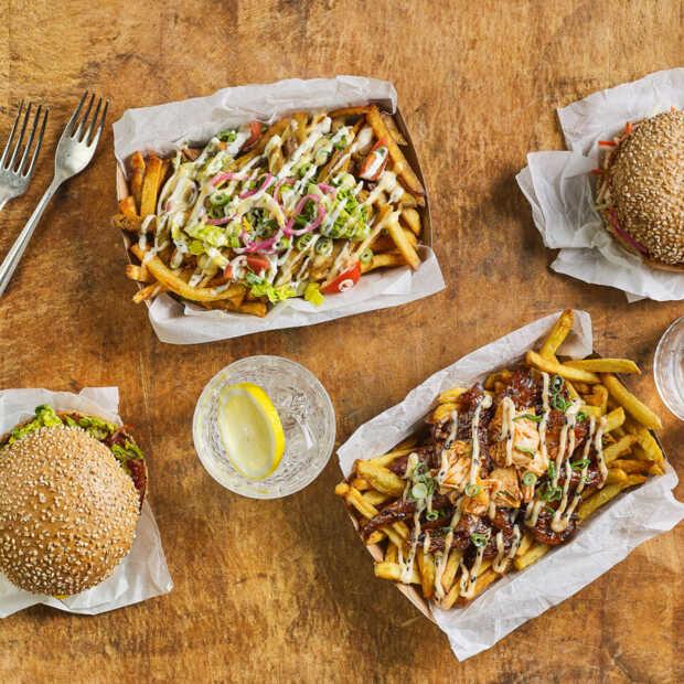 De Vegetarische Slager opent tijdelijk vegan burgerrestaurant De Vleesch Lobby