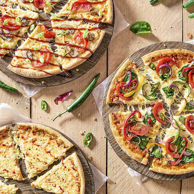 Ook Domino's heeft nu Vegan Pizza's