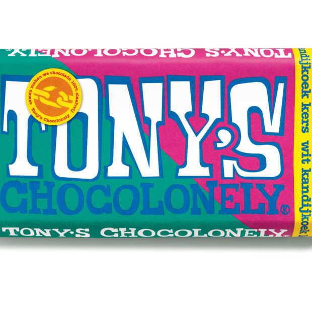 Nieuwe estafettereep Tony's Chocolonely verkrijgbaar