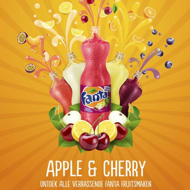 Fanta lanceert nieuwe limited edition met smaken van herfstfruit