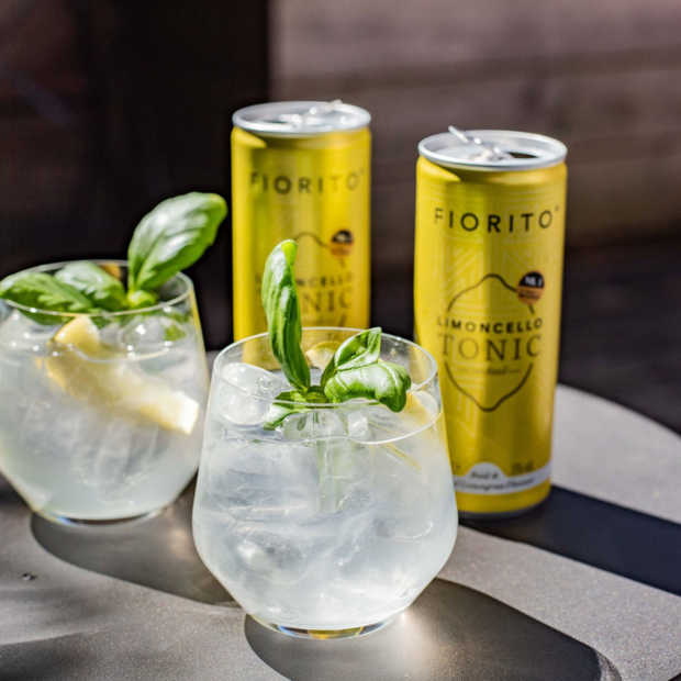 Fiorito brengt Limoncello-Tonic cocktail in blik uit