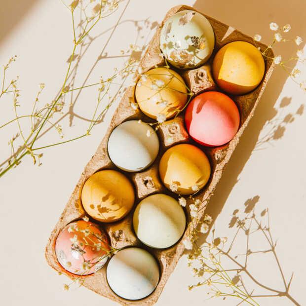 Eierverkoop stijgt gemiddeld met 50 procent in de week voor Pasen