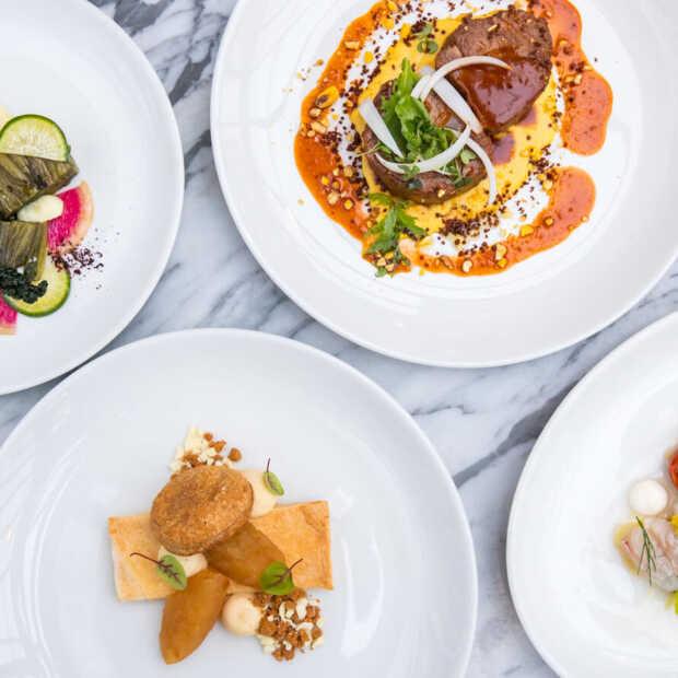 Genieten van een viergangendiner van restaurants Jansz. via Thuis Uit Eten