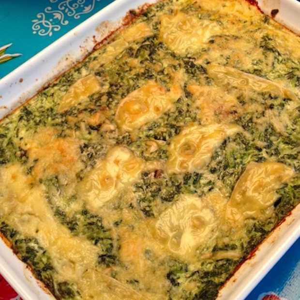 Snel klaar: een gezonde spinazieschotel uit de oven