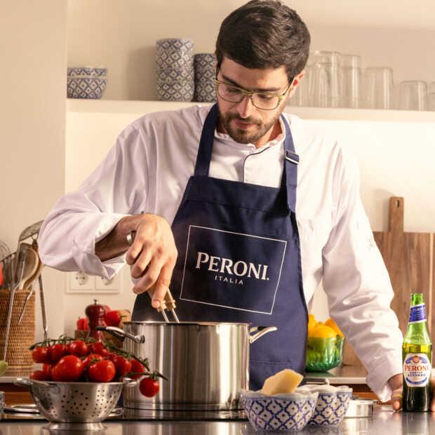 Peroni organiseert een exclusieve kookworkshop: Pasta Night Live