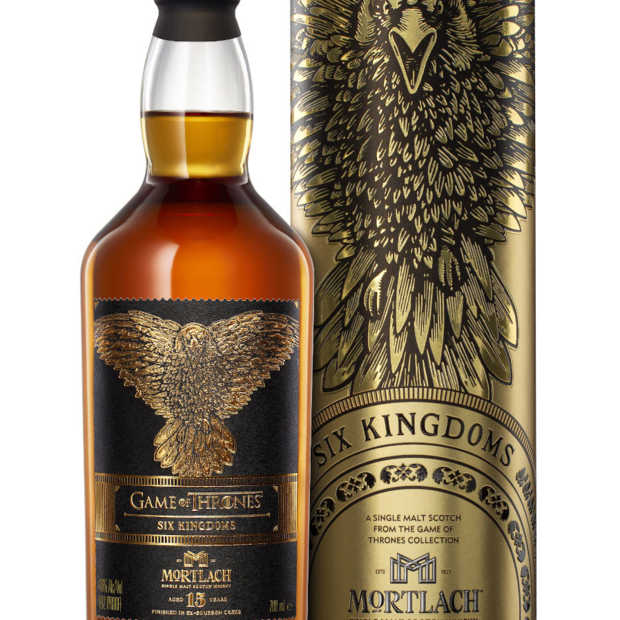 Game of Thrones whiskycollectie compleet met negende fles 'Six Kingdoms'