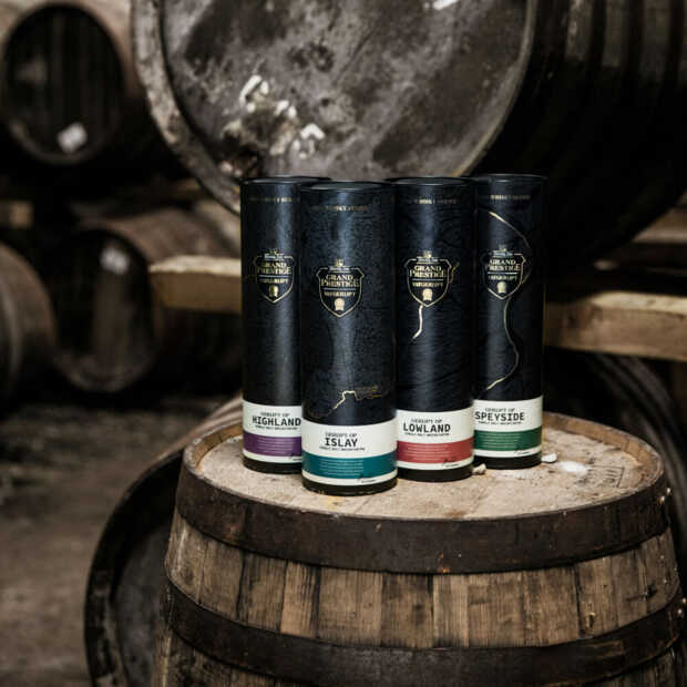 Nieuwe Hertog Jan Vatgerijpt-serie gerijpt op Schotse whiskyvaten
