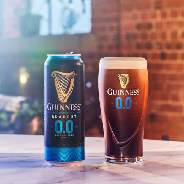 Het moment is daar: alcoholvrije Guinness 0.0 in Nederland verkrijgbaar