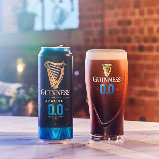 Guinness komt met een alcoholvrije 0.0 stout op de markt