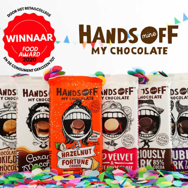 Hands Off My Chocolate wint FoodAward 2020