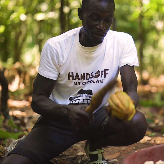 De cacaomassa voor de repen van Hands Off My Chocolate is volledig traceerbaar