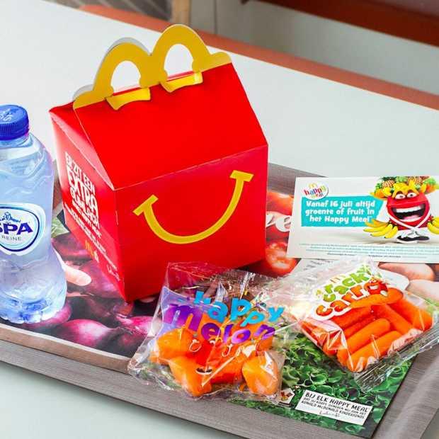 McDonald's maakt Happy Meal iets gezonder