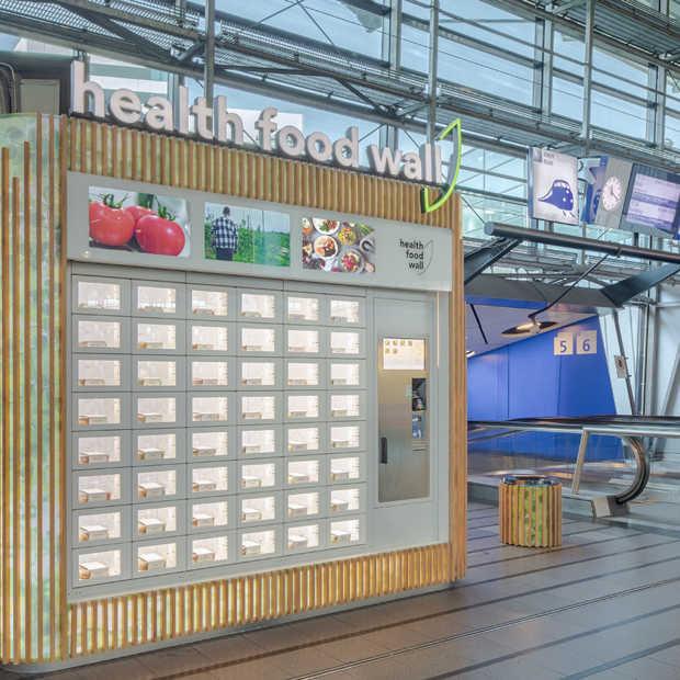 Meer gezonde opties op Schiphol