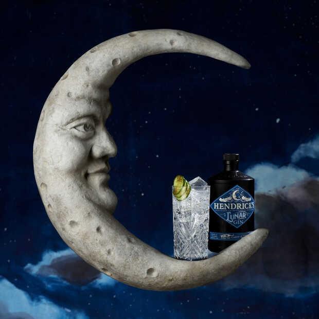 Hendrick's nieuwe Lunar Gin is een ode aan het donkerte van middernacht