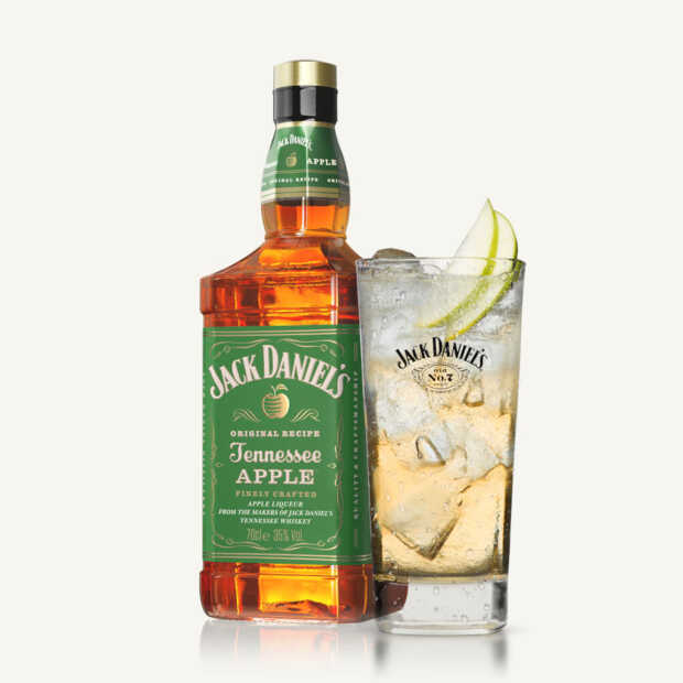 Jack Daniel's lanceert nieuwe flavored whiskey Tennessee Apple in Nederland