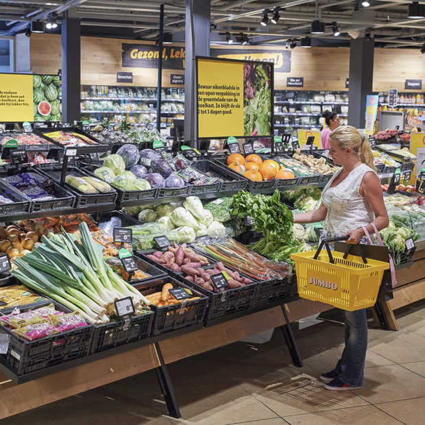 Jumbo op weg naar 100% duurzame Nederlandse AGF