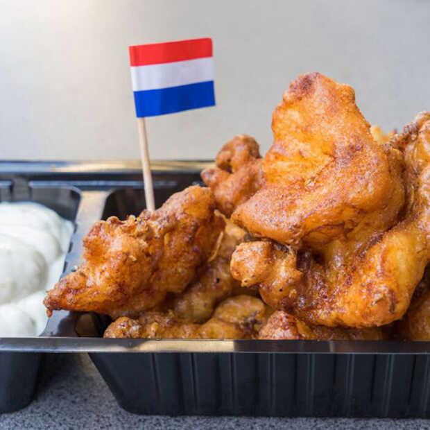 Kibbeling is stiekem een van de meest typerende Nederlandse streetfoods