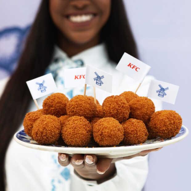 KFC introduceert de eerste Zinger bitterballen (dus gemaakt van kip!)