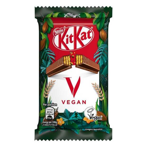 Nestlé gaat voor een plantaardige break en introduceert KitKat V