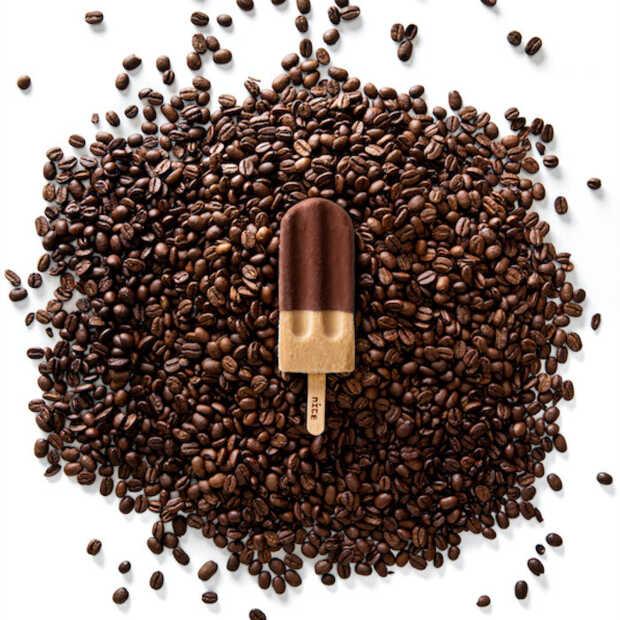 Koffie op een stokje van Nice bij Bagels & Beans verkrijgbaar