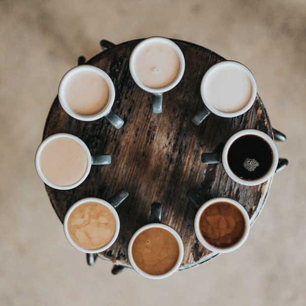 De dag beginnen met koffie