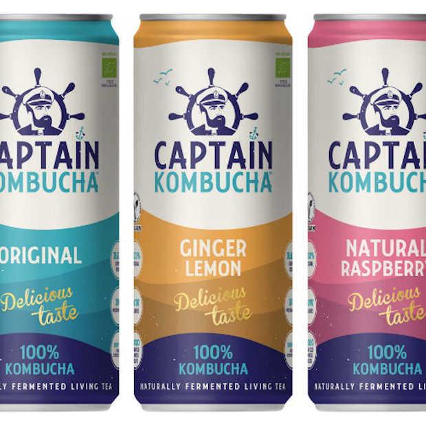 Er is dankzij Captain Kombucha zelfs kombucha in blik