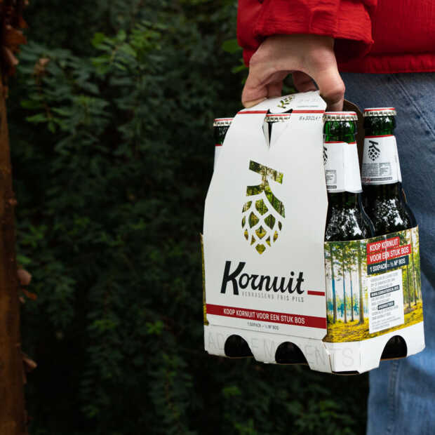 Biermerk Kornuit legt eigen bos aan ter compensatie CO2