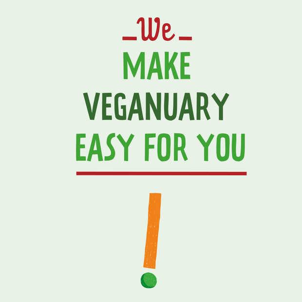 Nieuwe challenge voor januari: Veganuary