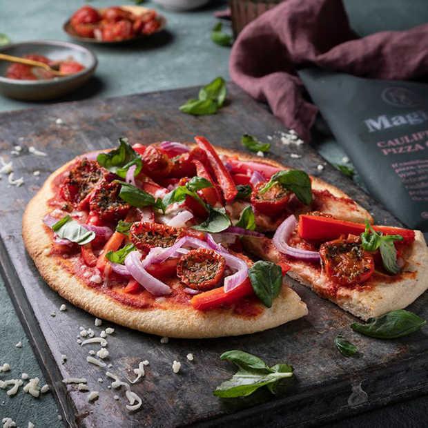 Pizza's Magioni voortaan vleesloos en van restgroenten