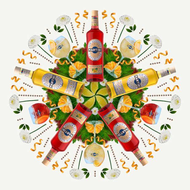 Martini introduceert twee alcoholvrije aperitieven