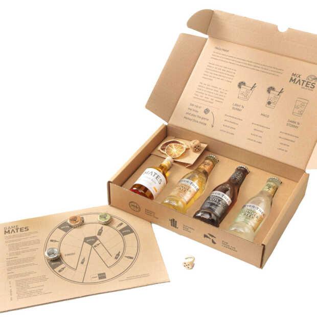 Mates Gold Rum brengt nieuwe cocktailbox en bordspel ineen uit