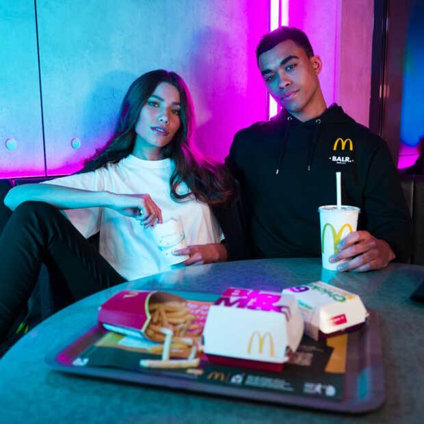 Haute Friture: Exclusieve samenwerking tussen BALR. en McDonald's