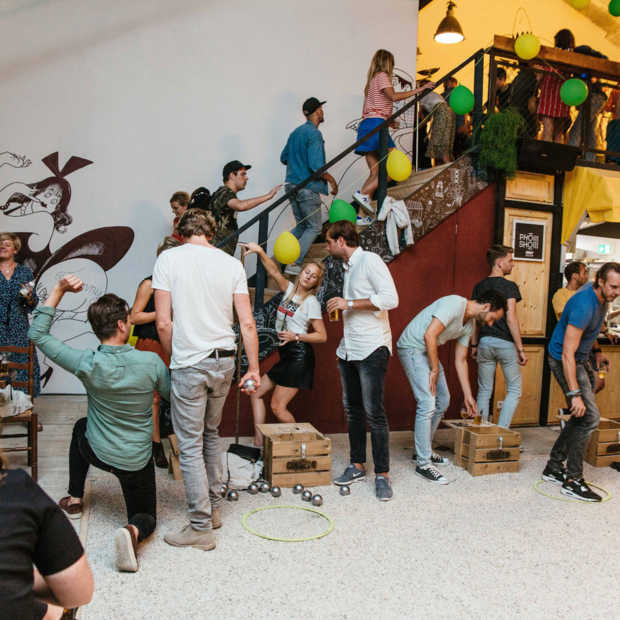 Jeu de boules-foodhal Mooie Boules geopend in Delft
