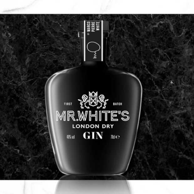 Marco Pierre White brengt eigen Mr. White's London Dry Gin op de (Britse) markt