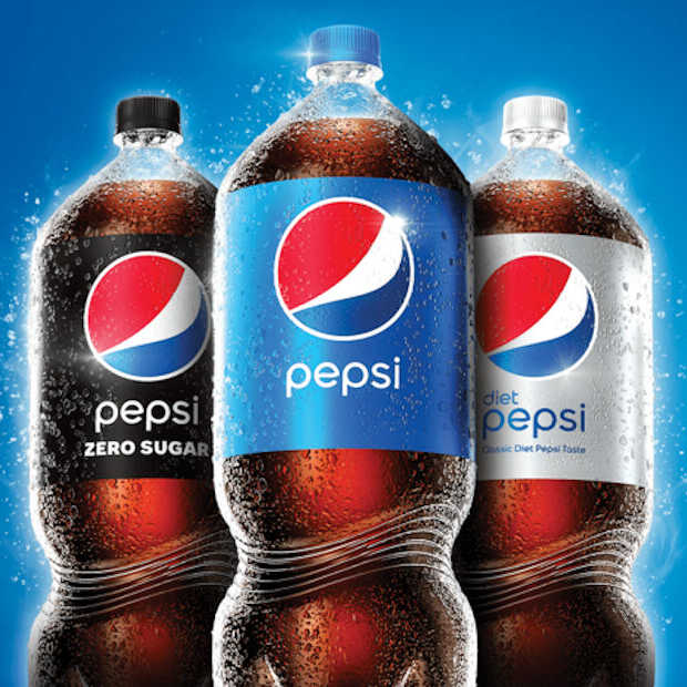 Pepsi past voor het eerst in 30 jaar het ontwerp van zijn flessen aan