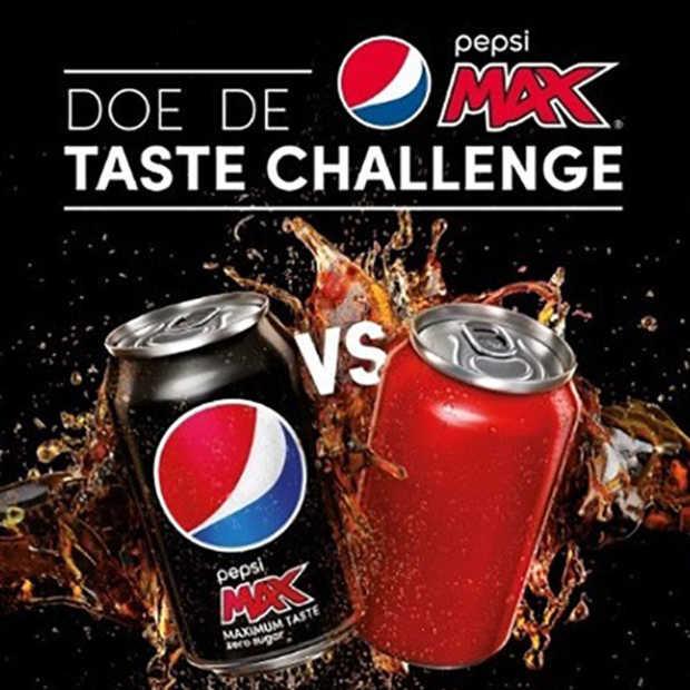 Pepsi daagt Coca Cola uit