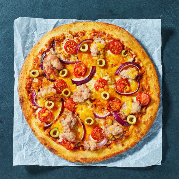 New York Pizza eerste pizzaketen die pizza's met tonijnvervanger introduceert